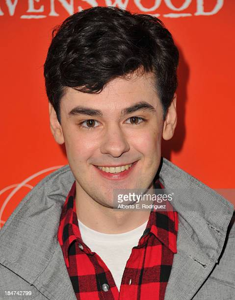 Actor Brendan Robinson attends a screening of ABC Family's Pretty Little Liars Halloween episode at Hollywood Forever Cemetery on October 15 2013 in...