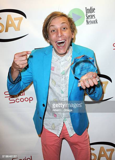 Actor Brennan Murray winner Best Supporting Actor in a Comedy for The New Adventures of Peter and Wendy at the 7th Annual Indie Series Awards held at...