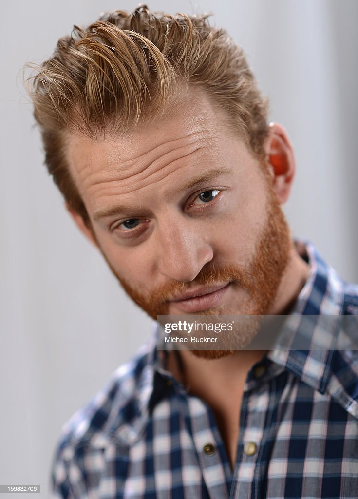 Actor Brent Chase poses for a portrait at the photo booth for MSN Wonderwall at ChefDance on January 20, 2013 in Park City, Utah.