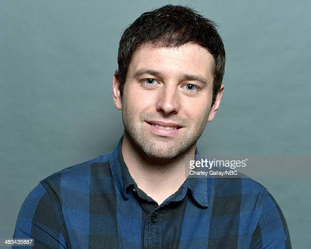 Actor Brent Morin poses for a portrait during the 2014 NBCUniversal Summer Press Day at The Langham Huntington on April 8, 2014 in Pasadena,...