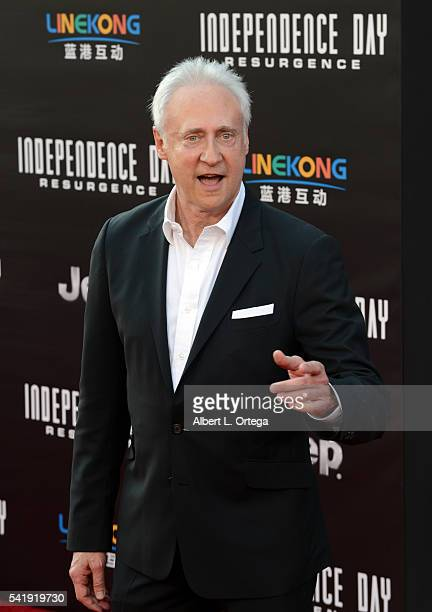 Actor Brent Spiner arrives for the Premiere Of 20th Century Fox's Independence Day Resurgence held at TCL Chinese Theatre on June 20 2016 in...