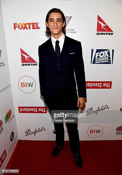 Actor Brenton Thwaites attends Australians In Film's 5th Annual Awards Gala at NeueHouse Hollywood on October 19 2016 in Los Angeles California