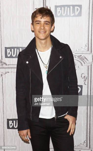 Actor Brenton Thwaites attends Build to discuss 'Pirates Of The Caribbean Dead Men Tell No Tales' at Build Studio on May 25 2017 in New York City