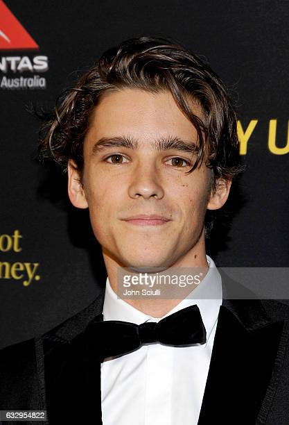 Actor Brenton Thwaites attends the 2017 G'Day Black Tie Gala at Governors Ballroom At Hollywood And Highland on January 28 2017 in Hollywood...