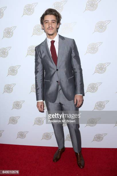 Actor Brenton Thwaites attends the 54th Annual International Cinematographers Guild Publicists Awards at The Beverly Hilton Hotel on February 24 2017...