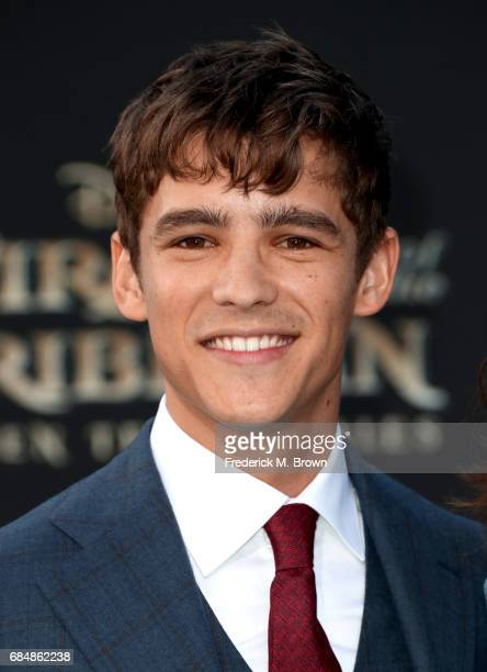 Actor Brenton Thwaites attends the premiere of Disney's 'Pirates Of The Caribbean Dead Men Tell No Tales' at Dolby Theatre on May 18 2017 in...