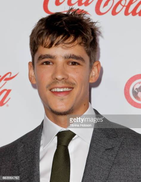 Actor Brenton Thwaites recipient of the Breakthrough Performer of the Year Award attends the CinemaCon Big Screen Achievement Awards at Omnia...