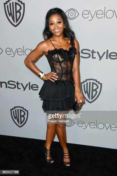 Actor Bresha Webb attends 19th Annual PostGolden Globes Party hosted by Warner Bros Pictures and InStyle at The Beverly Hilton Hotel on January 7...