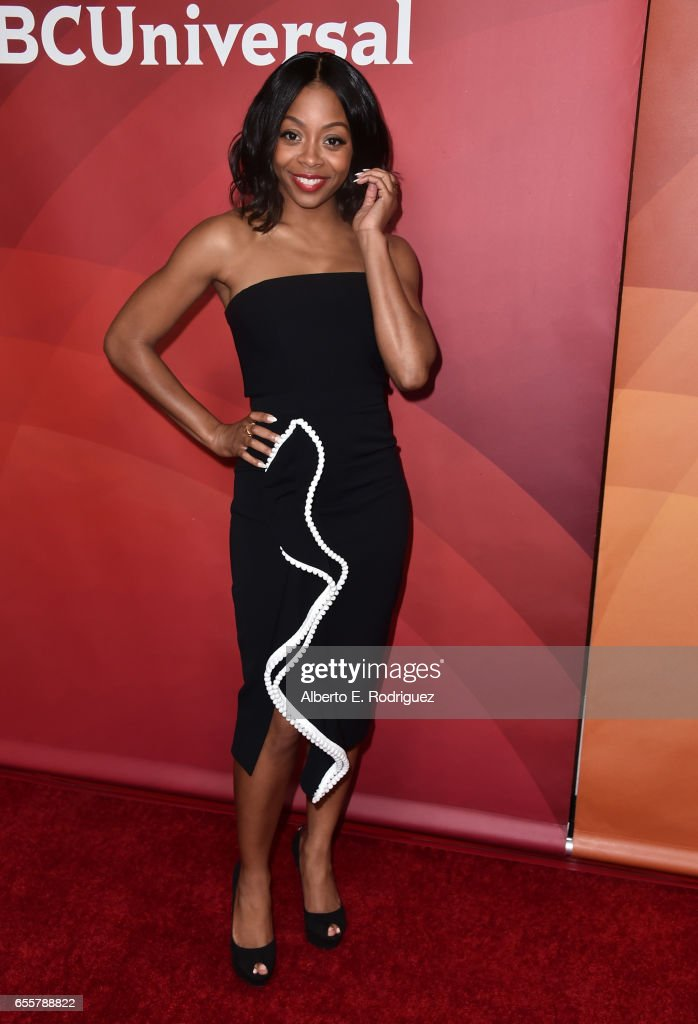 Actor Bresha Webb of 'Marlon' attends the 2017 NBCUniversal Summer Press Day at The Beverly Hilton Hotel on March 20, 2017 in Beverly Hills, California.