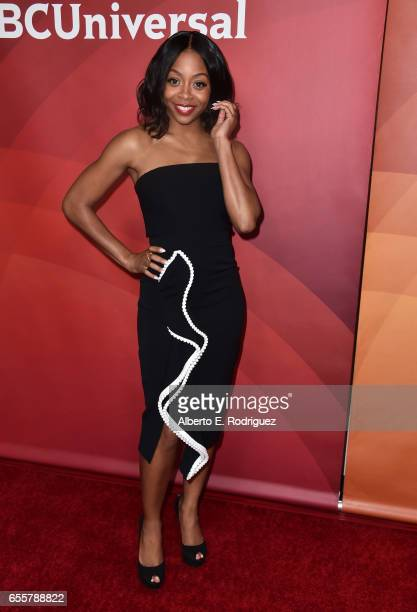 Actor Bresha Webb of Marlon attends the 2017 NBCUniversal Summer Press Day at The Beverly Hilton Hotel on March 20 2017 in Beverly Hills California