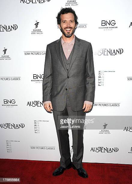 Actor Bret McKenzie attends the premiere of Austenland at ArcLight Hollywood on August 8 2013 in Hollywood California
