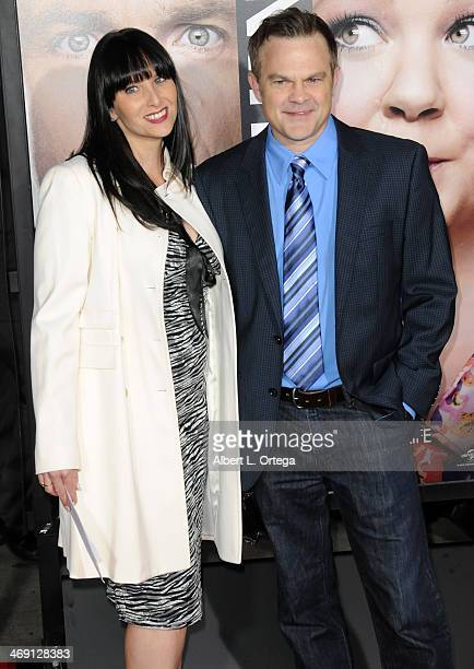 """Actor Brett Baker and guest arrive for the Premiere Of Universal Pictures' """"Identity Thief"""" held at Mann Village Theater on February 4, 2013 in..."""