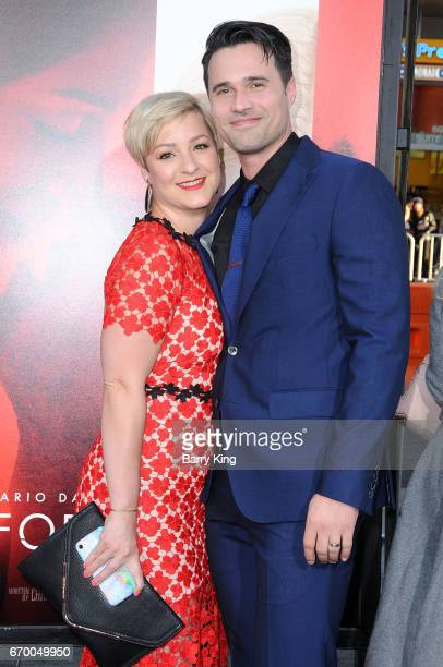 Actor Brett Dalton and fiance Melissa Trn attend premiere of Warner Bros Pictures' 'Unforgettable' at TCL Chinese Theatre on April 18 2017 in...