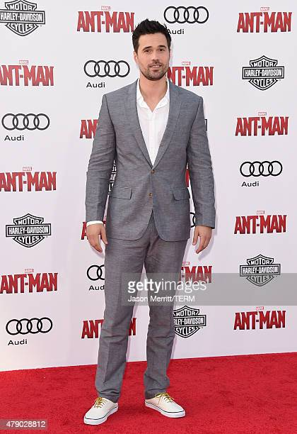 Actor Brett Dalton arrives at the Los Angeles Premiere of Marvel Studios 'AntMan' at Dolby Theatre on June 29 2015 in Hollywood California