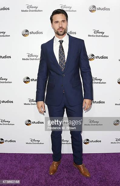 Actor Brett Dalton attends Disney Media Disribution International Upfronts at Walt Disney Studios on May 17 2015 in Burbank California