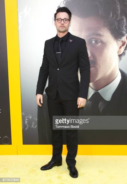 Actor Brett Dalton attends the Los Angeles Premiere Screening of National Geographics 'Genius' the Fox Theater on April 24 2017 in Los Angeles...