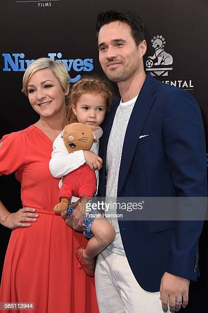 Actor Brett Dalton attends the Premiere Of EuropaCorp's 'Nine Lives' at TCL Chinese Theatre on August 1 2016 in Hollywood California
