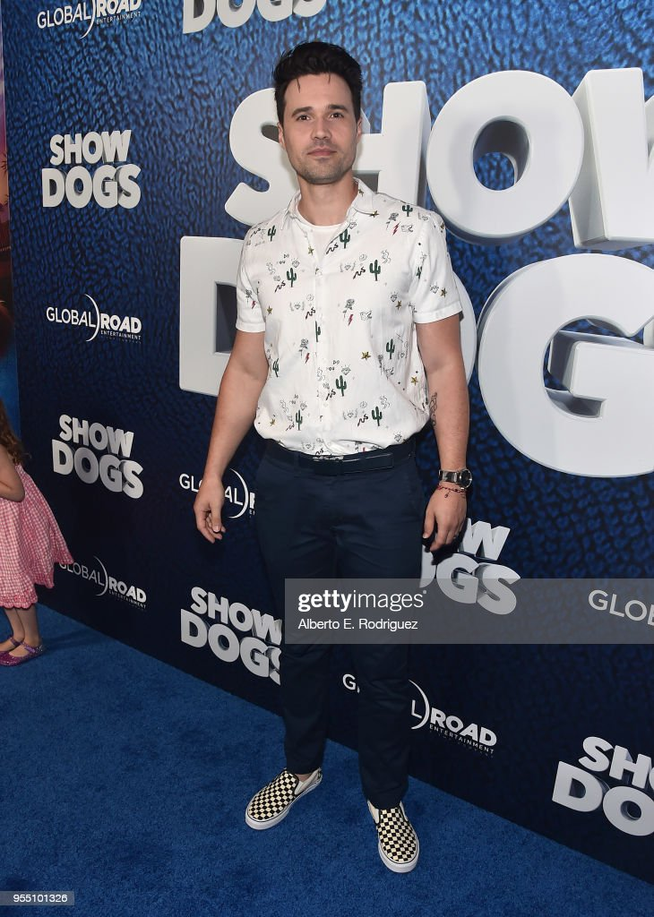 Actor Brett Dalton attends the premiere of Global Road Entertainment's 'Show Dogs' at The TCL Chinese 6 Theatres on May 5, 2018 in Hollywood, California.