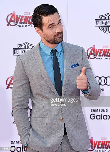 Actor Brett Dalton attends the premiere of Marvel's 'Avengers Age Of Ultron' at Dolby Theatre on April 13 2015 in Hollywood California