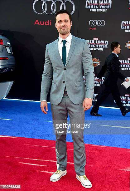 Actor Brett Dalton attends the premiere of Marvel's 'Captain America Civil War' at Dolby Theatre on April 12 2016 in Los Angeles California