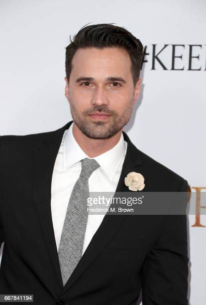 Actor Brett Dalton attends the premiere of Open Road Films' 'The Promise' at TCL Chinese Theatre on April 12 2017 in Hollywood California