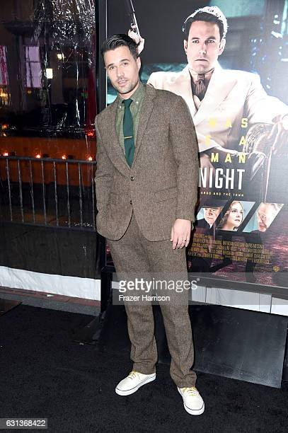 Actor Brett Dalton attends the premiere of Warner Bros Pictures' 'Live By Night' at TCL Chinese Theatre on January 9 2017 in Hollywood California