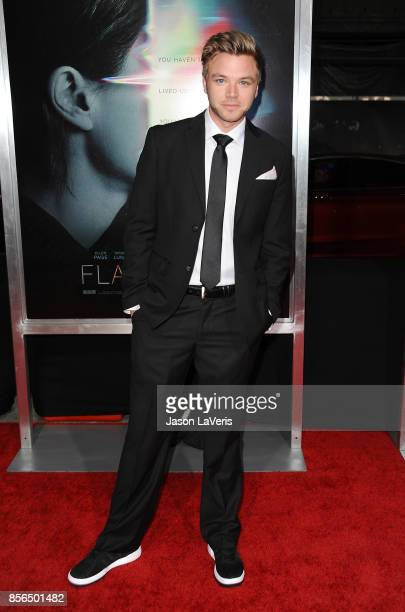 Actor Brett Davern attends the premiere of Flatliners at The Theatre at Ace Hotel on September 27 2017 in Los Angeles California