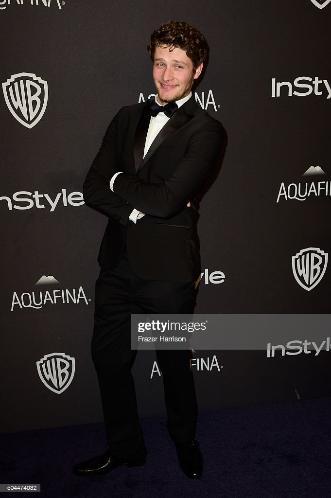 Actor Brett Dier attends InStyle and Warner Bros. 73rd Annual Golden Globe Awards Post-Party at The Beverly Hilton Hotel on January 10, 2016 in Beverly Hills, California.