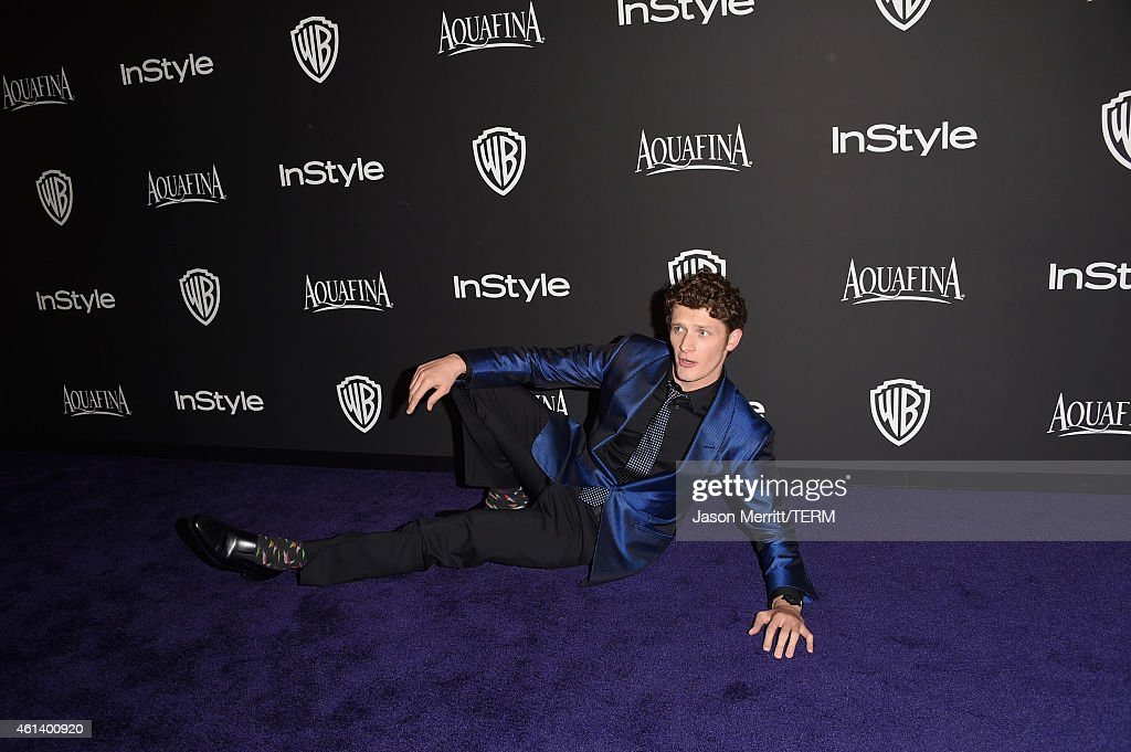 Actor Brett Dier attends the 2015 InStyle And Warner Bros. 72nd Annual Golden Globe Awards Post-Party at The Beverly Hilton Hotel on January 11, 2015 in Beverly Hills, California.