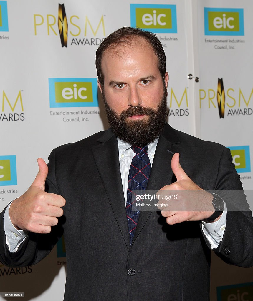 Actor Brett Gelman arrives at the 17th Annual PRISM Awards at the Beverly Hills Hotel on April 25, 2013 in Beverly Hills, California.