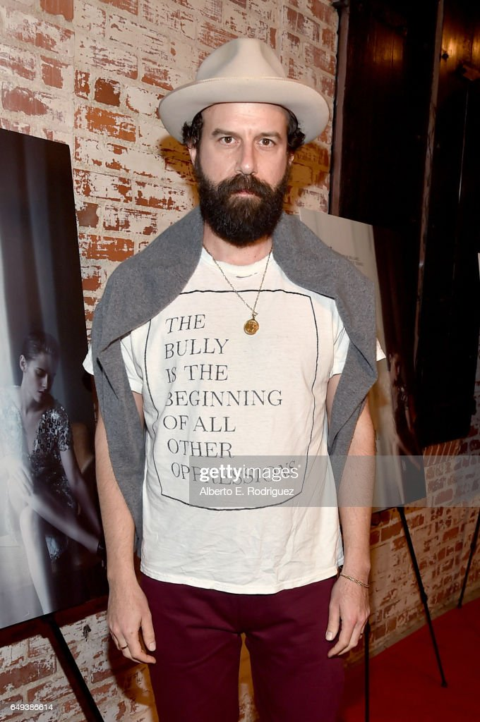 Actor Brett Gelman at the Flux and Cinefamily Hosted Premiere of IFC Films' PERSONAL SHOPPER at The Carondelet House on March 7, 2017 in Los Angeles, California.