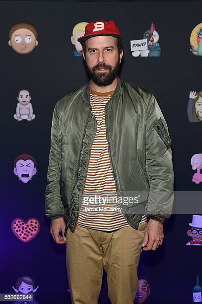 Actor Brett Gelman attends the 2016 Adult Swim Upfront Party on May 18 2016 in New York City 25870_002_0428JPG