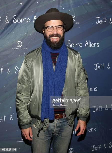 Actor Brett Gelman attends the 'Jeff Some Aliens' Premiere Party on January 11 2017 in Los Angeles California