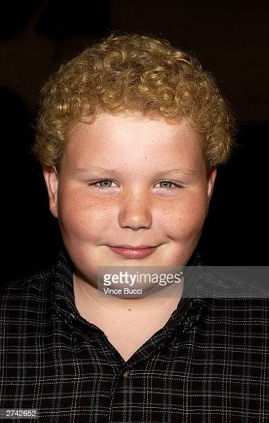 "Actor Brett Kelly attends the premiere of ""Bad Santa"" at the Bruin Theater on November 18, 2003 in Los Angeles, California."