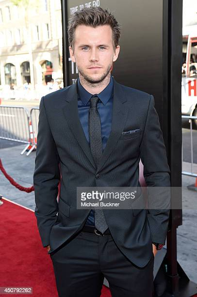 Actor Brett Lorenzini attends Premiere Of HBO's True Blood Season 7 And Final Season at TCL Chinese Theatre on June 17 2014 in Hollywood California