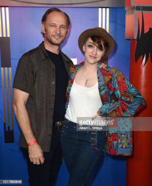 Actress/producer Amanda Lamberti arrives for the 14th HollyShorts Film Festival Screening Of 'Broken Sidewalk' held at TCL Chinese 6 Theatres on...