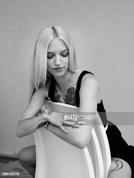 Actor Bria Vinaite is photographed on May 22 2017 in Cannes France