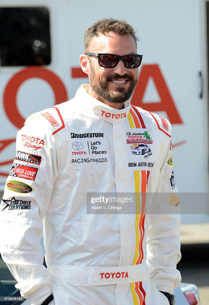 Actor Brian Austin Green at the 42nd Toyota Grand Prix Of Long Beach - Press Day on April 5, 2016 in Long Beach, California.