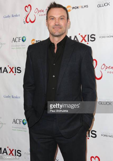 Actor Brian Austin Green attends the Open Hearts Foundation 10th Anniversary Gala at SLS Hotel at Beverly Hills on February 15, 2020 in Los Angeles,...
