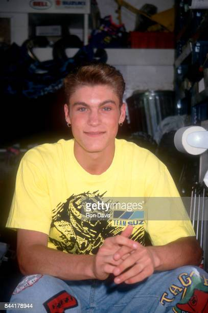 Actor Brian Austin Green from Beverly Hills poses for a portrait circa 1992 in Los Angeles California