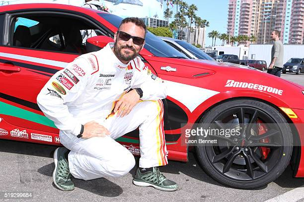 Actor Brian Austin Green the 42nd Toyota Grand Prix of Long Beach Press Day on April 5 2016 in Long Beach California