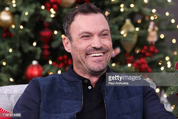 "Actor Brian Austin Green visits Hallmark Channel's ""Home & Family"" at Universal Studios Hollywood on November 15, 2019 in Universal City, California."