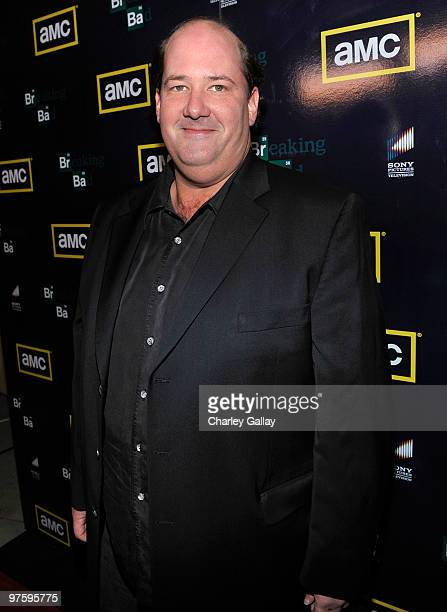Actor Brian Baumgartner attends the Season Three premiere of AMC and Sony Pictures Television's 'Breaking Bad' at the ArcLight Hollywood Cinemas on...