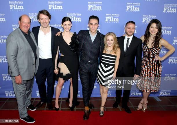 Actor Brian Baumgartner director Anthony Sabet actress Rachele Schank actor Luke Brandon Field actress Kelly Stables producer Matt DeMarco and...