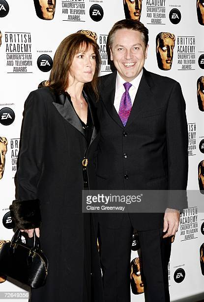 Actor Brian Conley and his wife Anne-Marie arrive at the 11th British Academy Children's Film & Television Awards at the Park Lane Hilton hotel on...