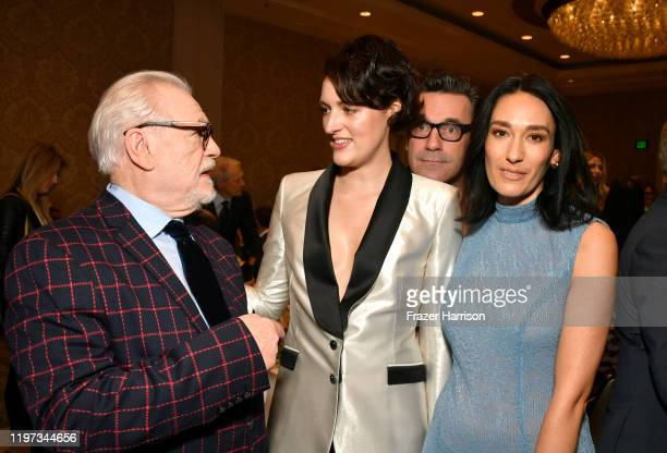Actor Brian Cox actorproducer Phoebe WallerBridge actor Jon Hamm and actor Sian Clifford attend the 20th Annual AFI Awards at Four Seasons Hotel Los...