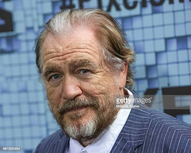 Actor Brian Cox arrives at the Pixels New York premiere held at the Regal EWalk on July 18 2015 in New York City
