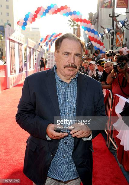 Actor Brian Cox arrives at the premiere of Warner Bros Pictures' The Campaign at Grauman's Chinese Theatre on August 2 2012 in Hollywood California
