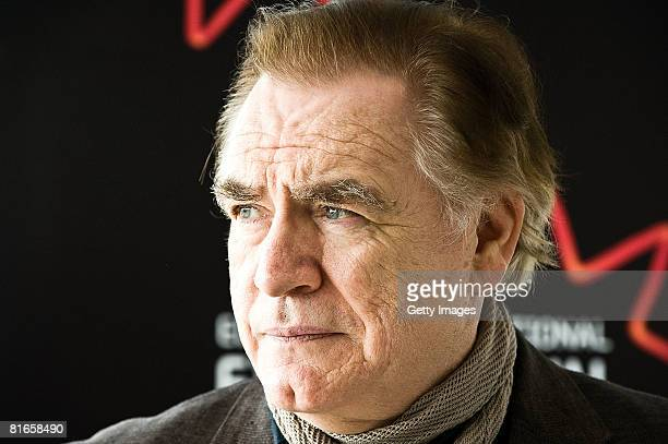 Actor Brian Cox attends a photocall to promote his film RED on day four of the Edinburgh International Film Festival at the Point Conference Centre...