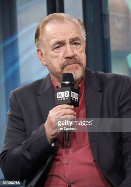 Actor Brian Cox attends Build to discuss Churchillat Build Studio on May 31 2017 in New York City